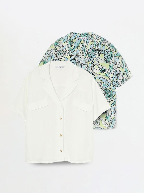 Paquet de 2 camises combinades