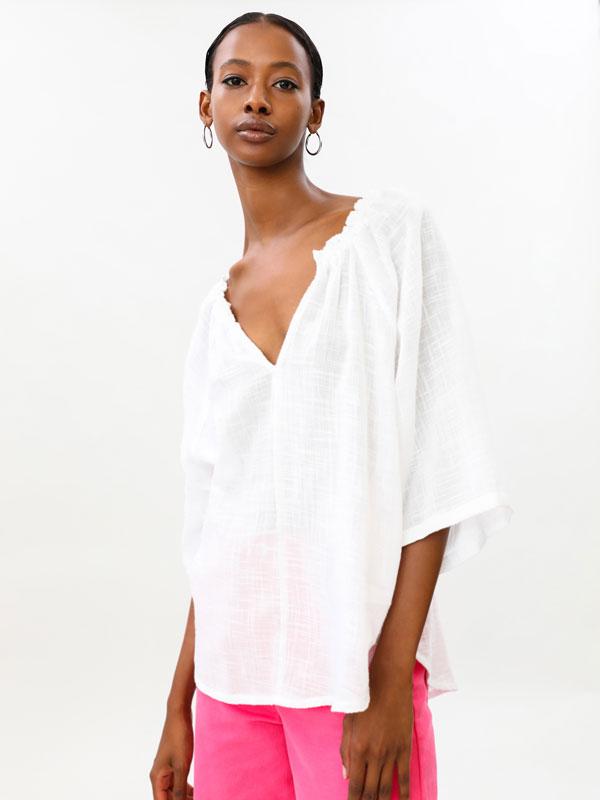 Rustic blouse