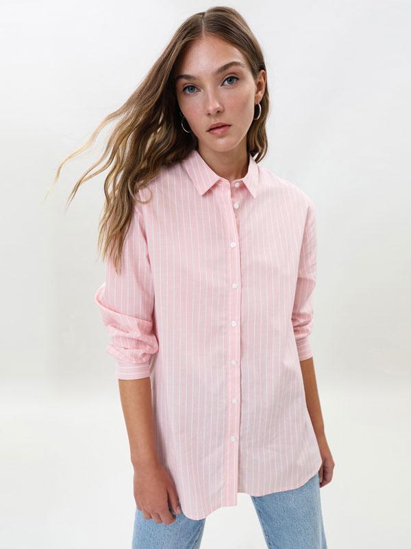 Basic poplin shirt