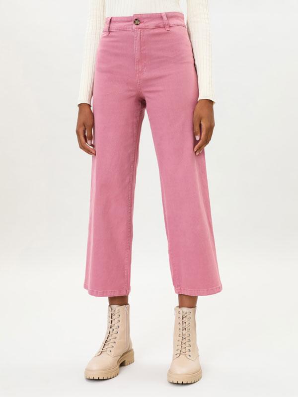 Coloured culottes