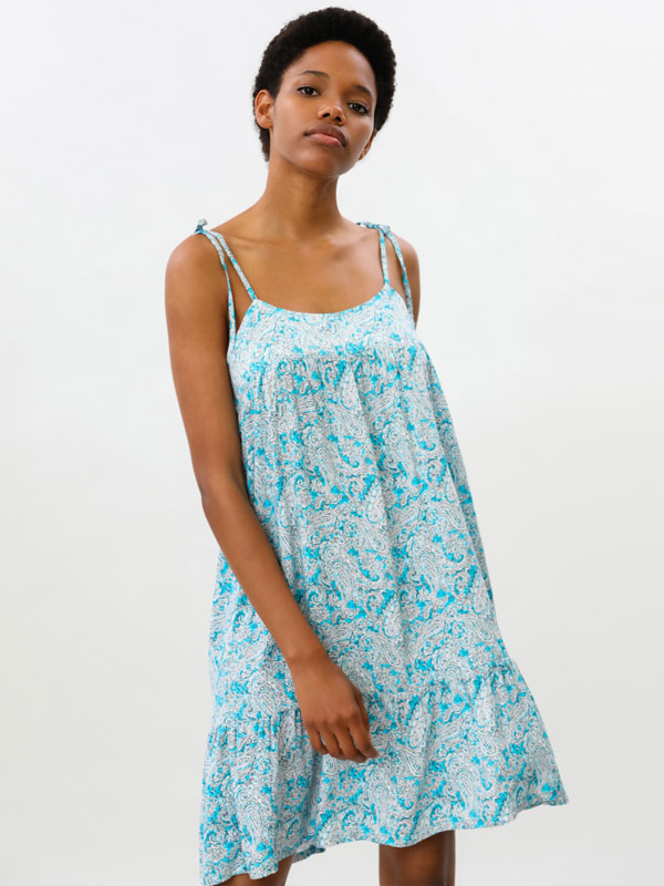 Flowing strappy dress