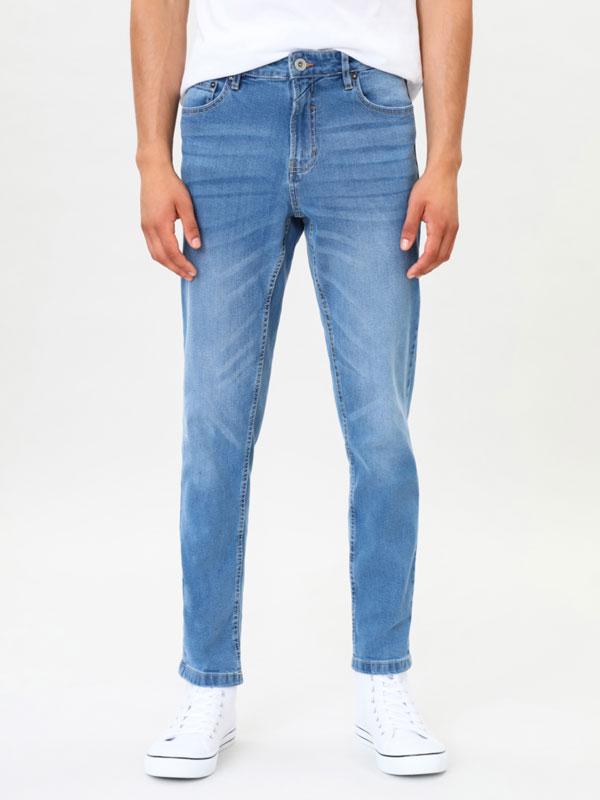Slim fit comfort jeans