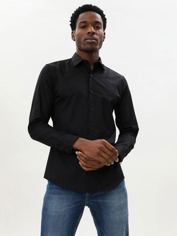 Easy-iron Basic Shirt