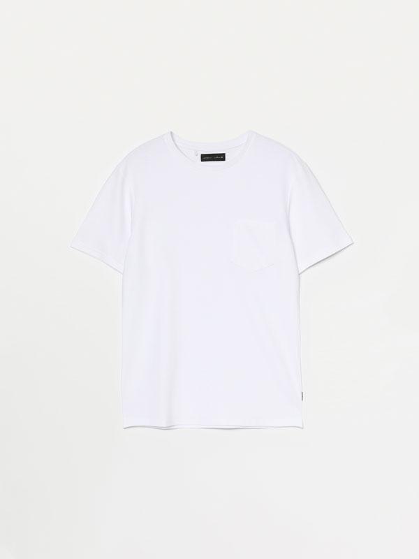 Short sleeve ottoman T-shirt