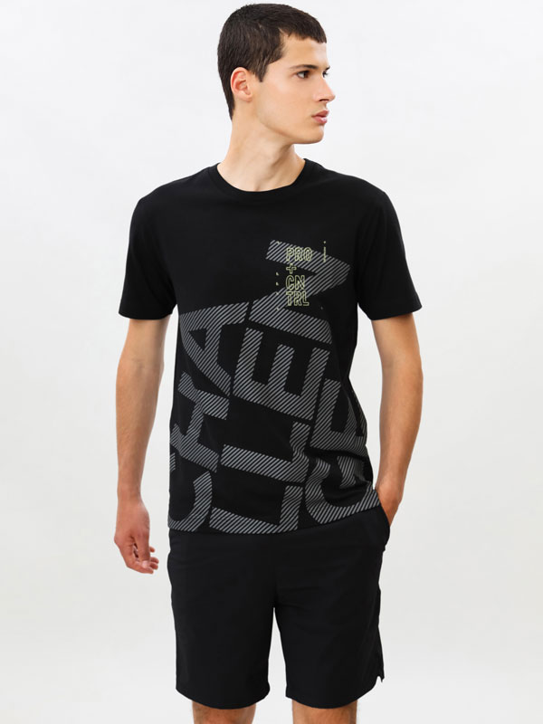 Printed training T-shirt
