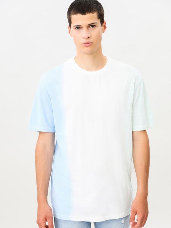 Tie-dye short sleeve T-shirt