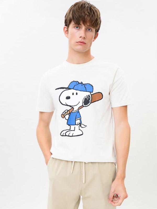 Camiseta Snoopy Peanuts™ manga curta