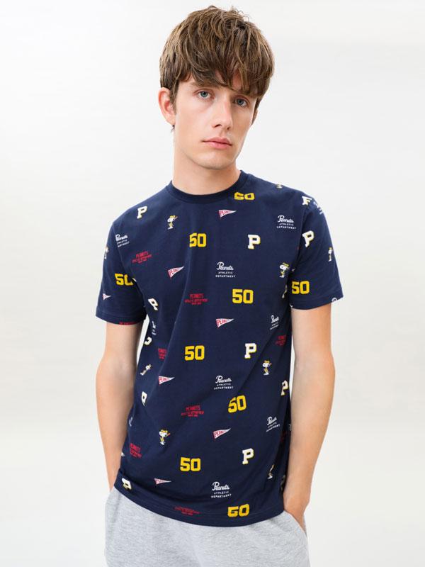 Camiseta estampado Snoopy Peanuts™