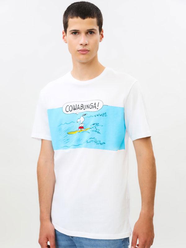 Camiseta  Snoppy Peanuts™