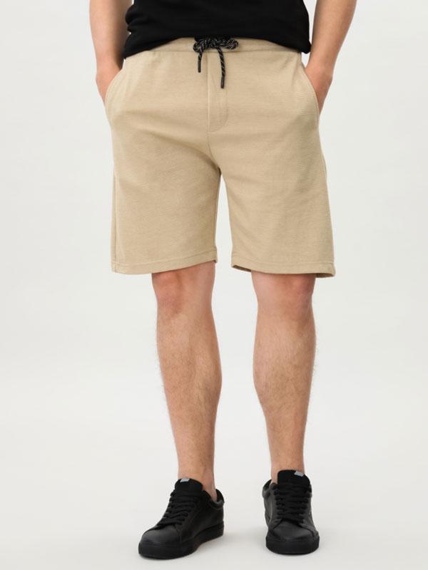 Ottoman Bermuda shorts