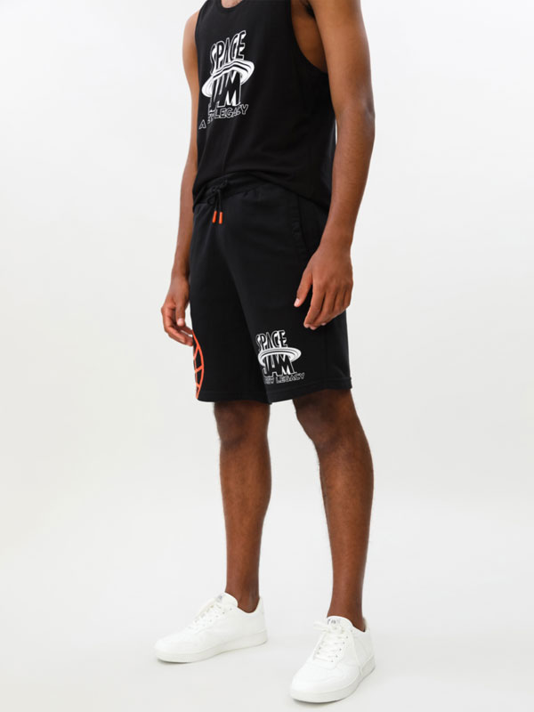 Space Jam © &™ WARNER BROS jogger Bermuda shorts