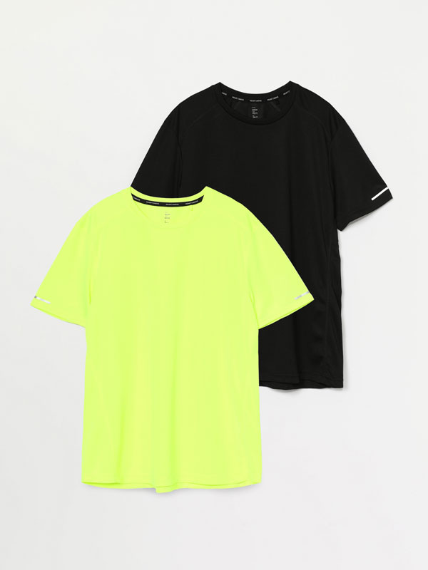 Pack of 2 sports tops