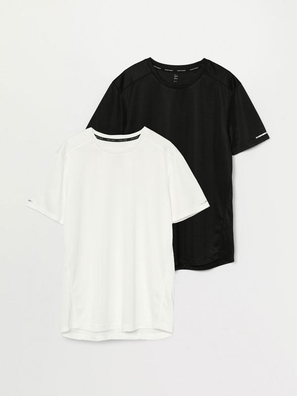 Pack de 2 camisetas deportivas