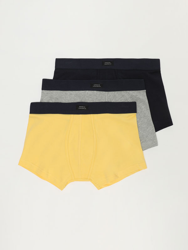 Pack de 3 calçotets bàsics