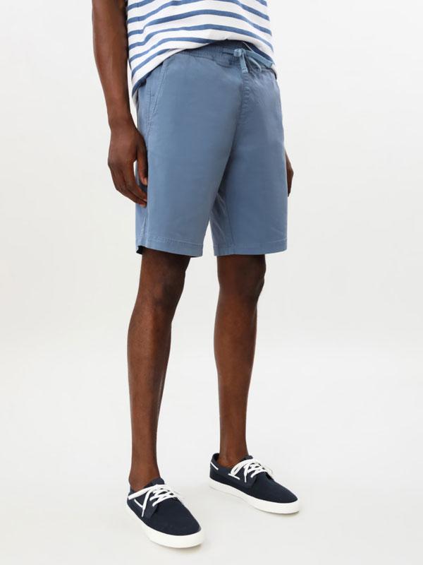 Stretch beach Bermuda shorts