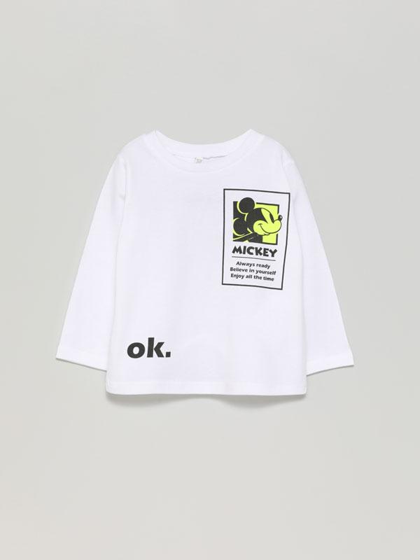 Camiseta de manga larga de Mickey ©Disney