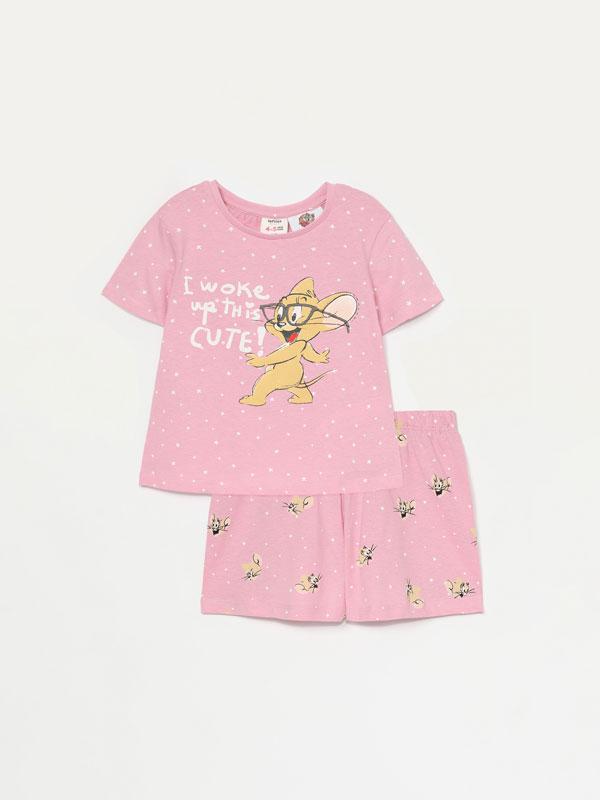 Conjunt de pijama curt de tom & jerry © &™ wbei