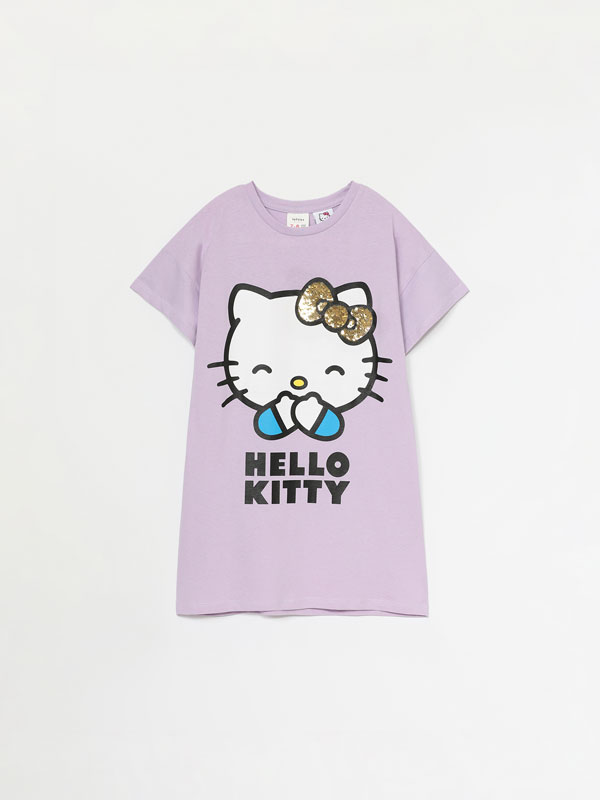 Hello Kitty © SANRIO dress with reversible sequins