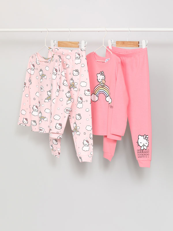Pack of 2 Hello Kitty ©SANRIO pyjama sets