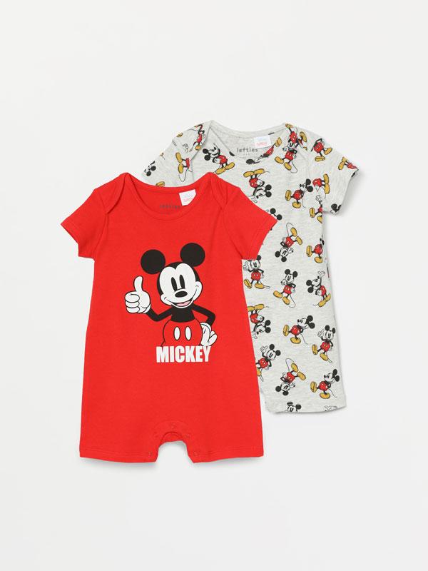 2-pack of Mickey ©Disney print pyjamas