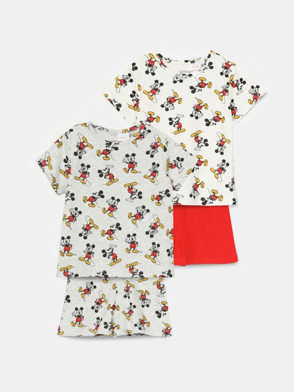 Pack of 2 Mickey ©Disney pyjama sets