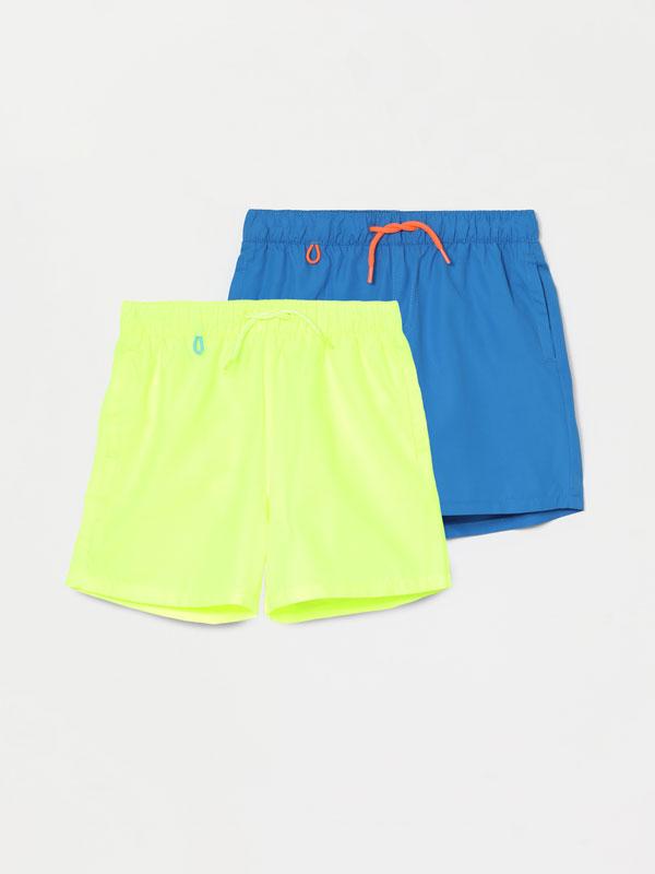 2-pack of basic swimming trunks