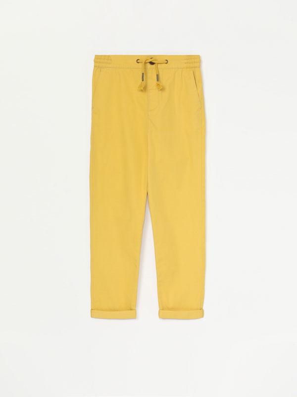 Pantalons bàsics de cotó