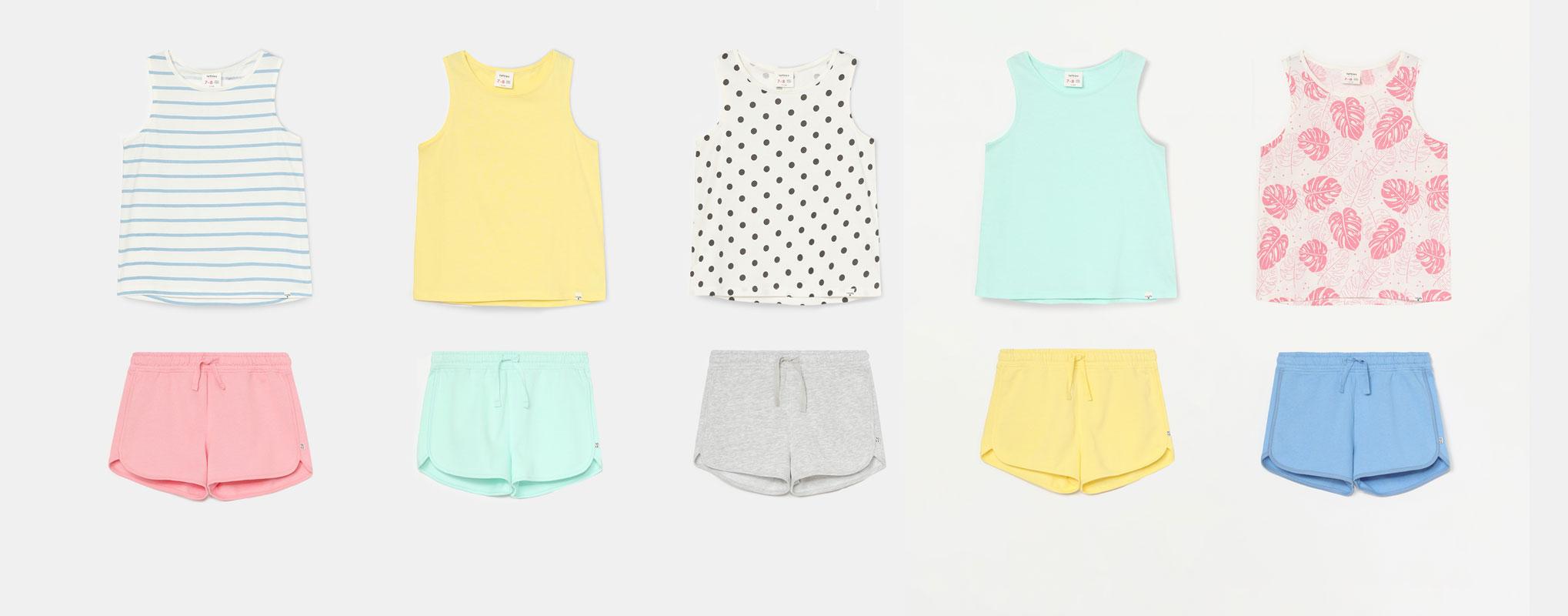 Weekly pack of 10 garments