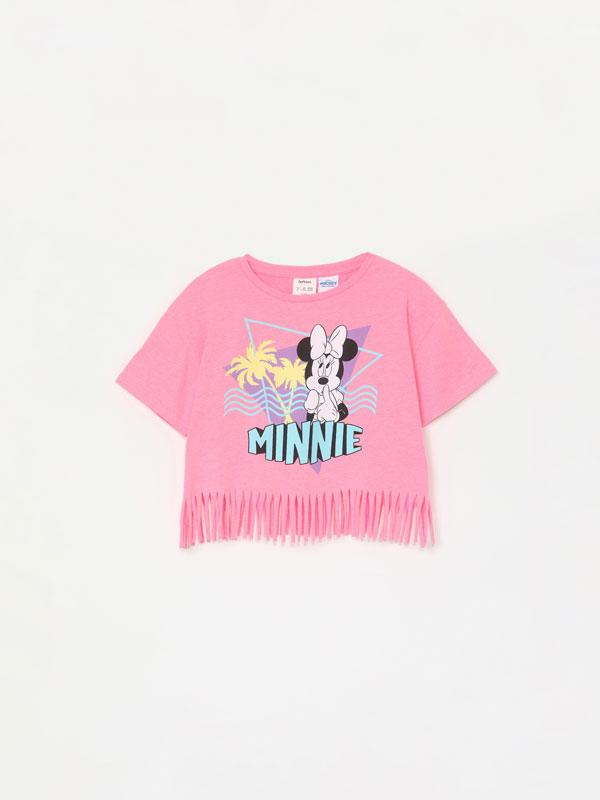 Minnie ©Disney T-shirt with fringe