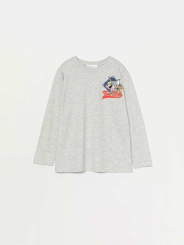 Samarreta de màniga llarga de Tom & Jerry © &™ WBEI