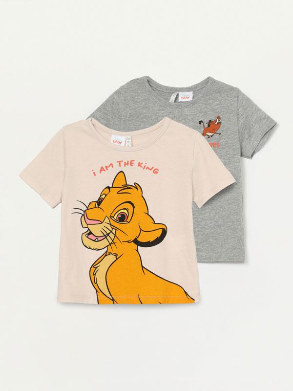 Pack of 2 Lion King ©Disney T-shirts