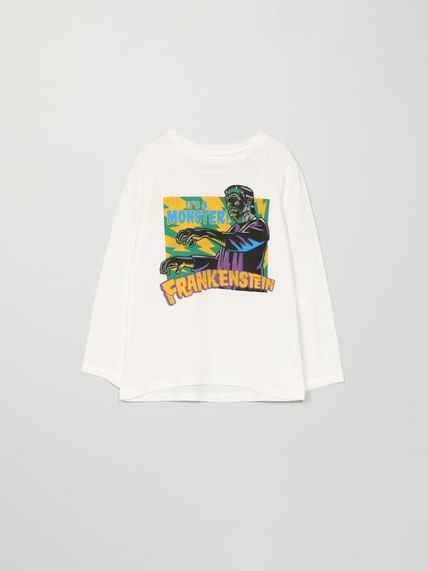T-shirt com estampado Halloween de Frankenstein © Universal City Studios LLC
