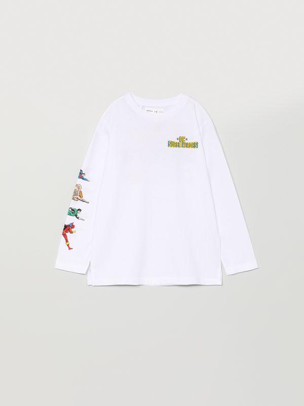 Long sleeve Superman ©DC Comics T-shirt