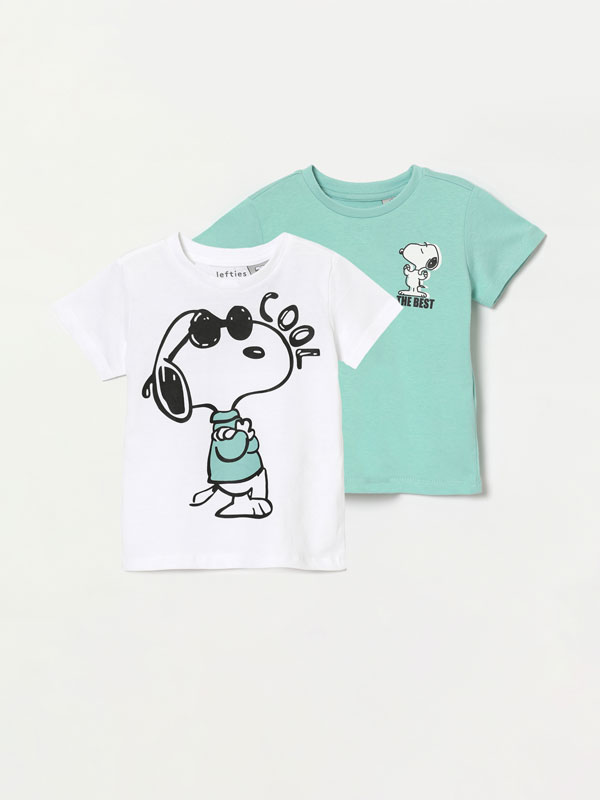 Pack of 2 Snoopy Peanuts™ short sleeve T-shirts