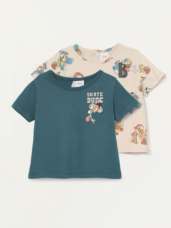Pack of 2 Donald Duck © Disney T-shirts
