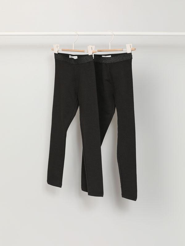 2-Pack of warm leggings