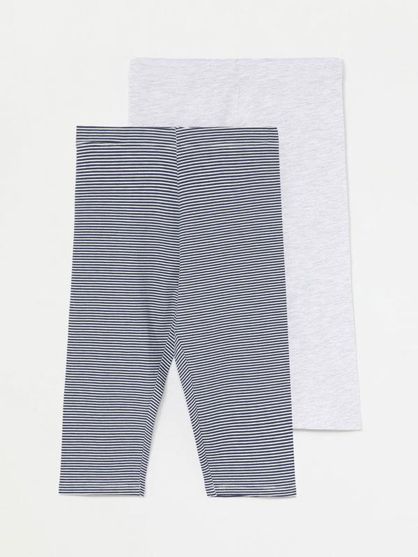2-pack of capri leggings