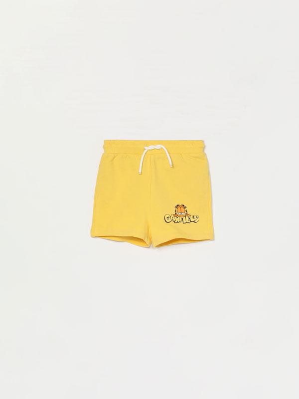 Garfield ©Nickelodeon print Bermuda shorts