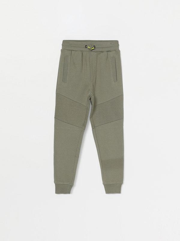 Ottoman plush trousers