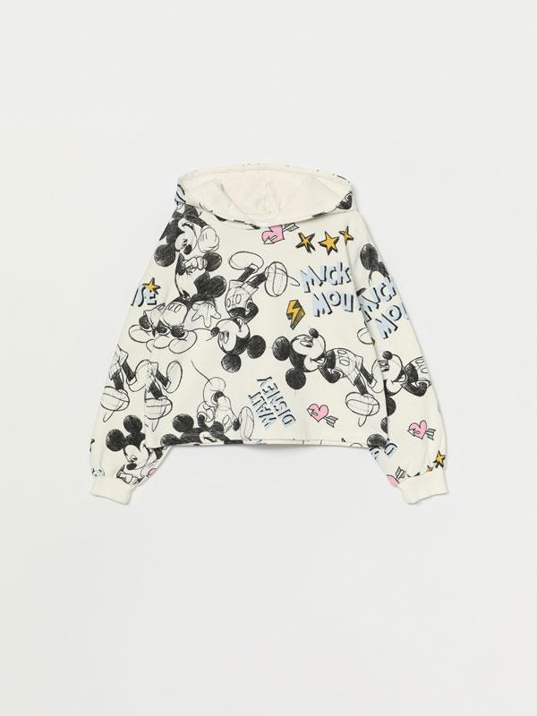 Minnie ©Disney cropped hoodie