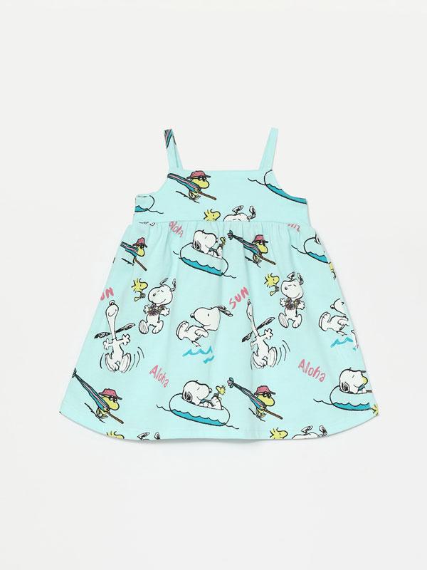Vestido de alças de Snoopy Peanuts™