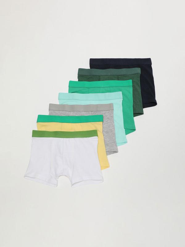 7-Pack of basic boxer shorts