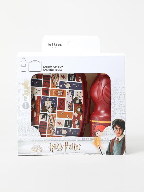 Harry Potter © &™ WARNER BROS lunchbox and bottle set