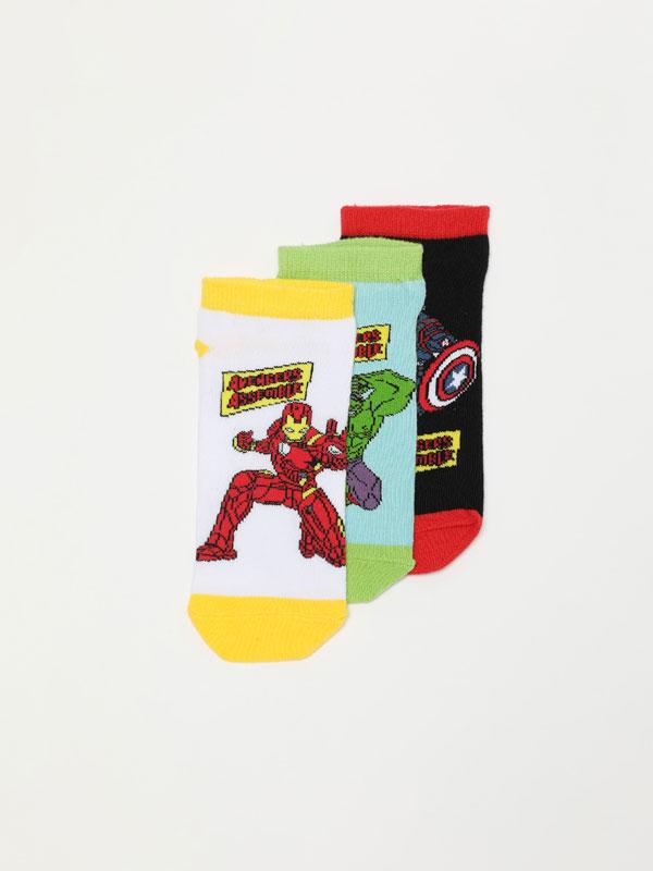 3-Pack of Avengers ©Marvel socks