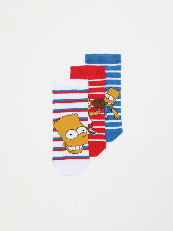 Pack de 3 meias soquetes de ©The Simpsons