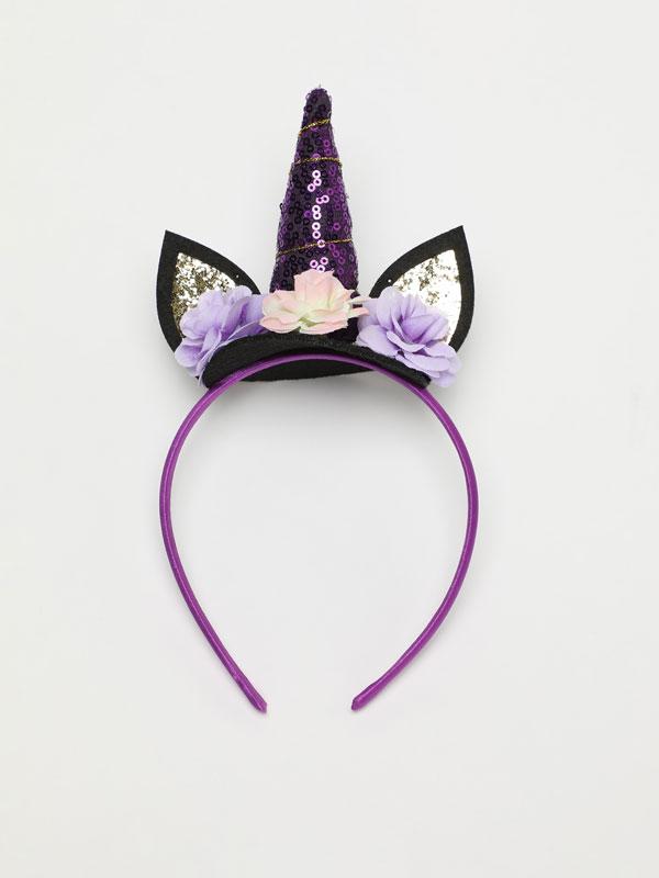 Diadema d'unicorn Halloween