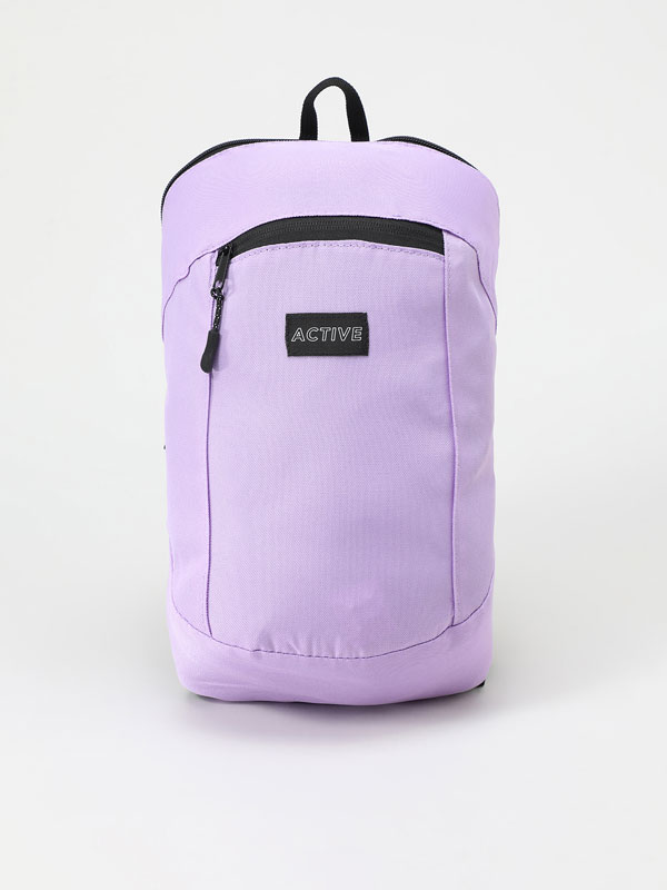 Compact sports backpack