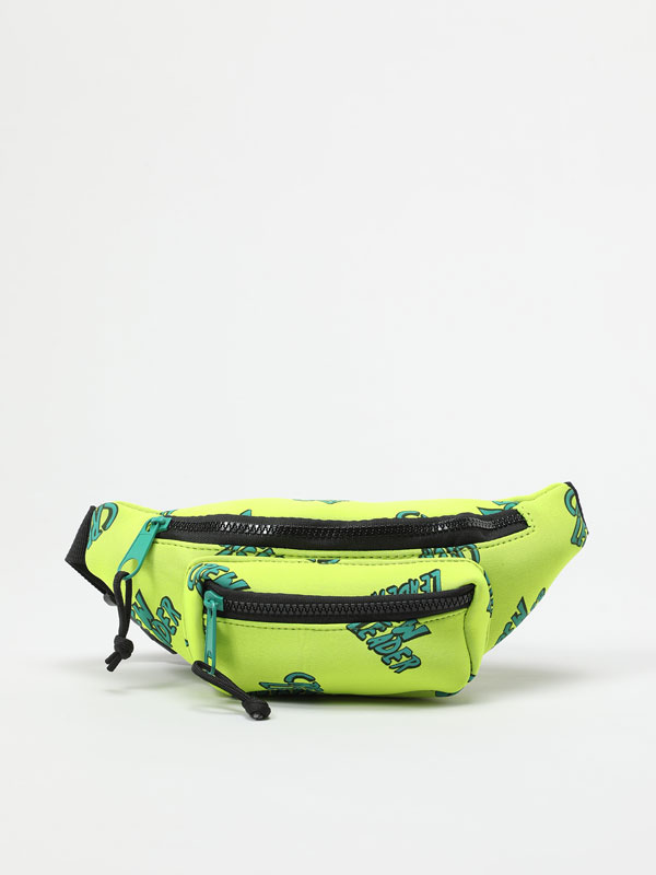 Print neoprene belt bag