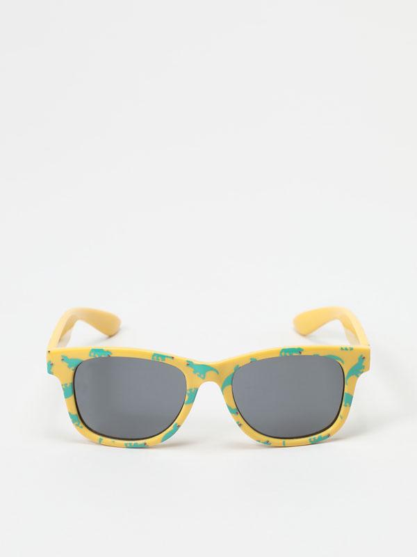 Dinosaur print sunglasses
