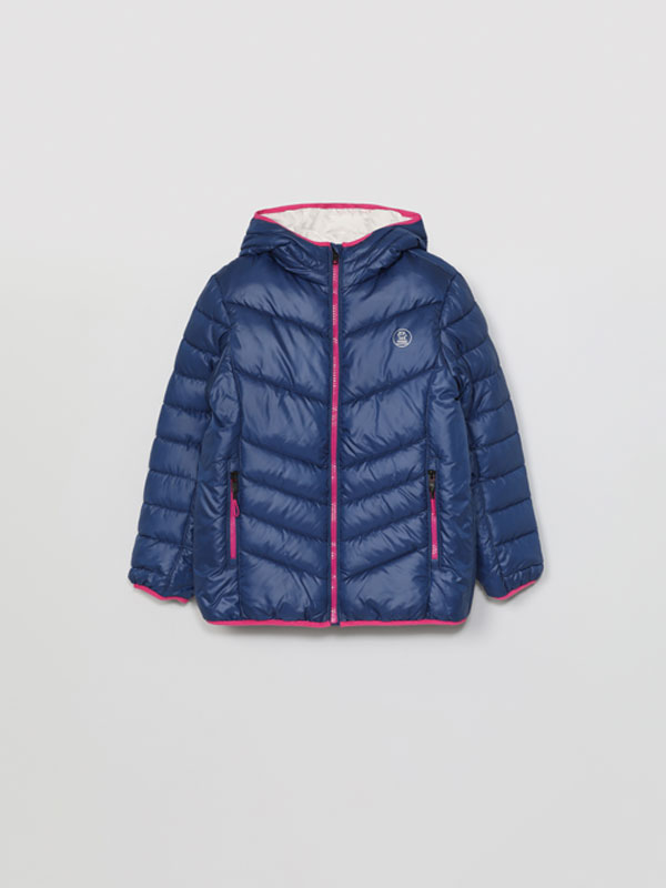 Sporty puffer jacket